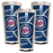 Minnesota Twins 3-Piece Shot Glass Set