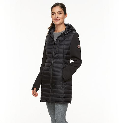Women's HFX Hooded Puffer Down Jacket