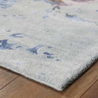 Oriental Weavers Galaxy Make a Splash Abstract Wool Blend Rug