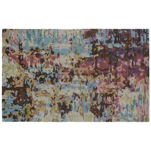 StyleHaven Galaxy Painter's Paradise Abstract Wool Blend Rug