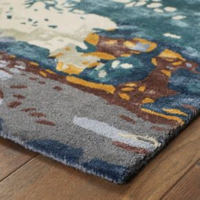 StyleHaven Galaxy Panacea Abstract Wool Blend Rug