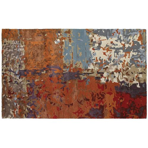 Oriental Weavers Galaxy Autumn Inspirations Abstract Wool Blend Rug