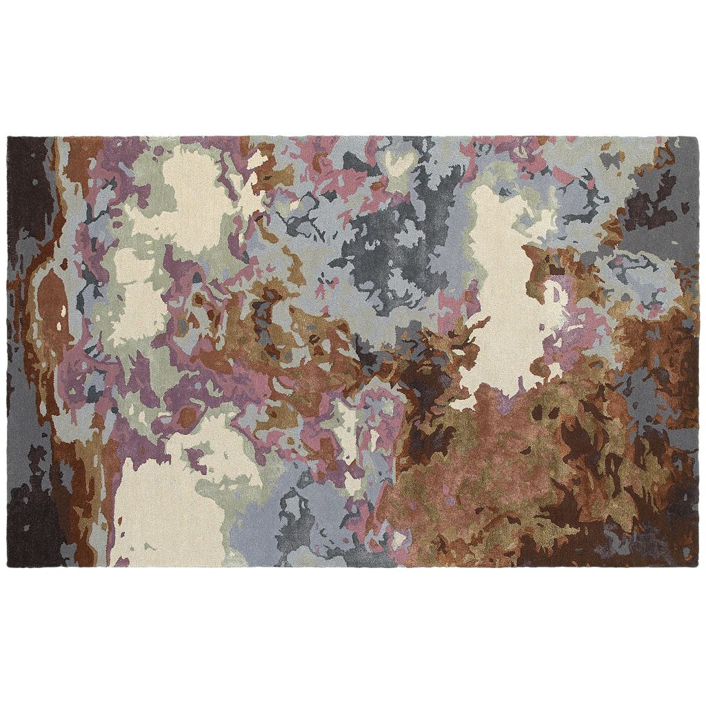 Oriental Weavers Galaxy Fluidity Abstract Wool Blend Rug