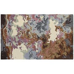 StyleHaven Galaxy Fluidity Abstract Wool Blend Rug