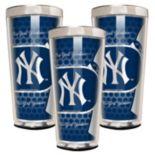 New York Yankees 3-Piece Shot Glass Set