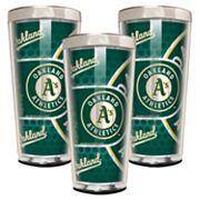 Oakland Athletics 3-Piece Shot Glass Set
