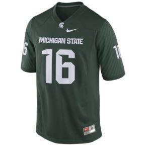 Men's Nike Michigan State Spartans Replica NCAA Football Jersey