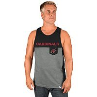 Men's Majestic Arizona Cardinals Throw the Towel Tank