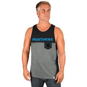 Men's Majestic Carolina Panthers Throw the Towel Tank