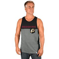 Men's Majestic Washington Redskins Throw the Towel Tank