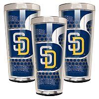 San Diego Padres 3-Piece Shot Glass Set