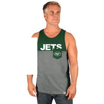 Men's Majestic New York Jets Throw the Towel Tank