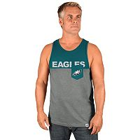 Men's Majestic Philadelphia Eagles Throw the Towel Tank