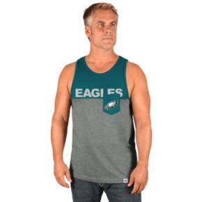 Men's Majestic Philadelphia Eagles Throw the Towel Tank
