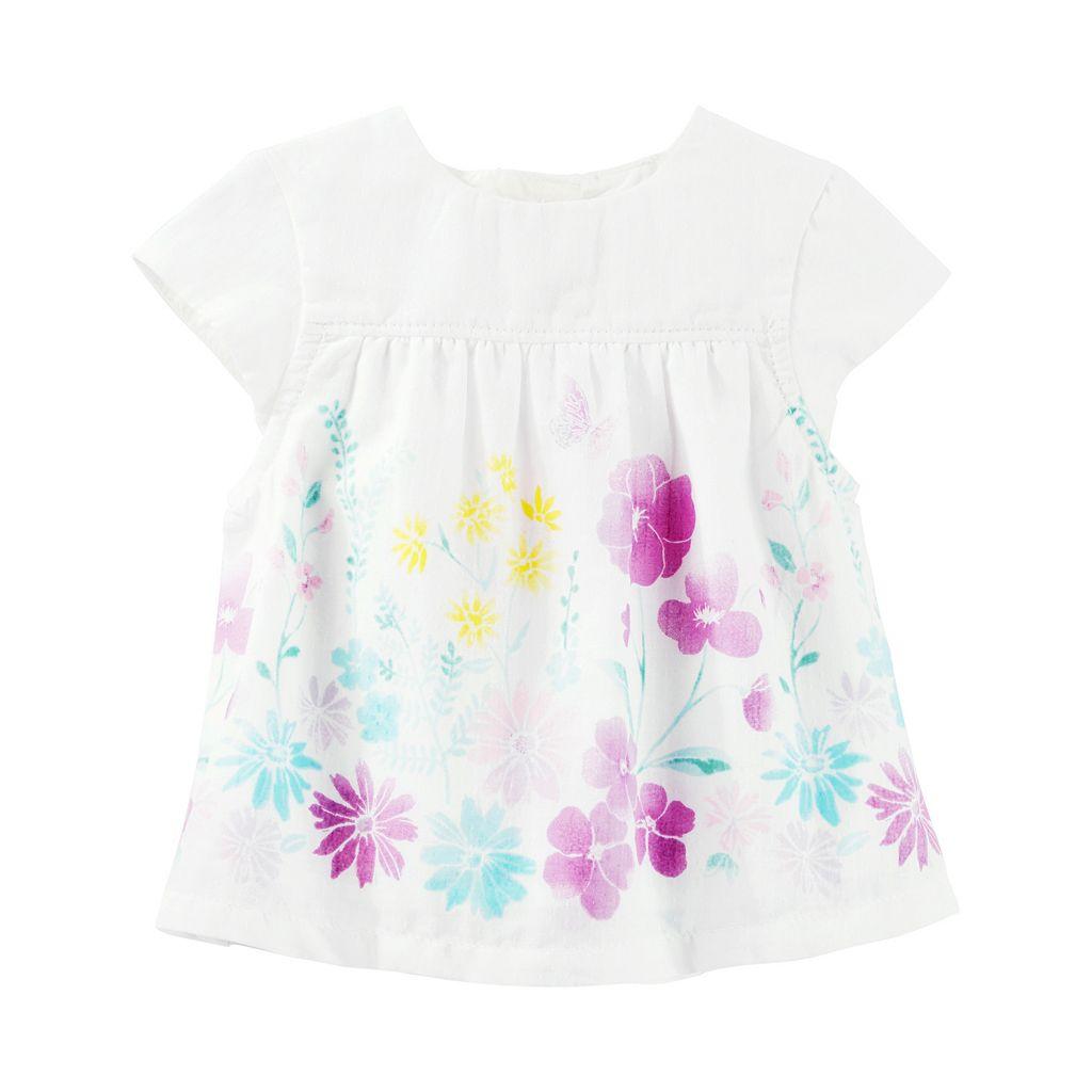 Baby Girl OshKosh B'gosh® Floral Empire Top