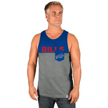 Men's Majestic Buffalo Bills Throw the Towel Tank