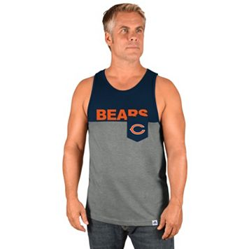 Men's Majestic Chicago Bears Throw the Towel Tank