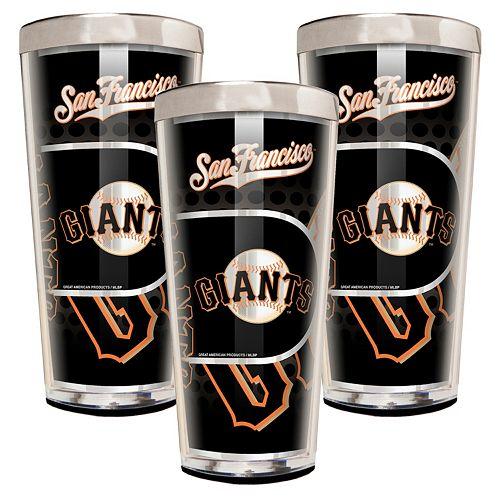 San Francisco Giants 3-Piece Shot Glass Set