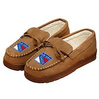 Men's Forever Collectibles New York Rangers Moccasin Slippers