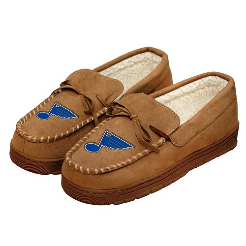 Men's Forever Collectibles St. Louis Blues Moccasin Slippers