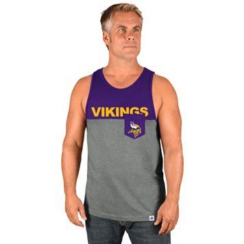 Men's Majestic Minnesota Vikings Throw the Towel Tank