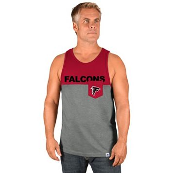 Men's Majestic Atlanta Falcons Throw the Towel Tank
