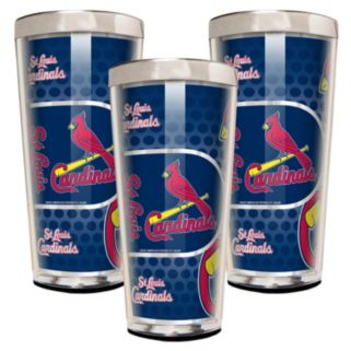 St. Louis Cardinals 3-Piece Shot Glass Set