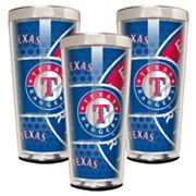 Texas Rangers 3-Piece Shot Glass Set