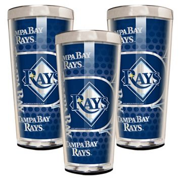 Tampa Bay Rays 3-Piece Shot Glass Set