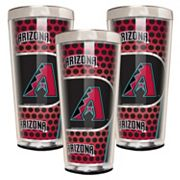 Arizona Diamondbacks 3 pc Shot Glass Set