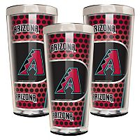 Arizona Diamondbacks 3-Piece Shot Glass Set