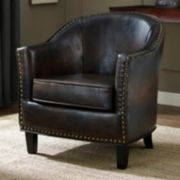 Simpli Home Kildare Tub Accent Chair