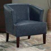 Simpli Home Longford Tub Arm Chair
