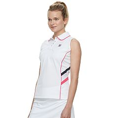 Women's FILA SPORT® Sleeveless Tennis Polo
