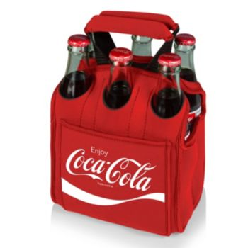 Picnic Time Coca-Cola Six Pack Beverage Carrier