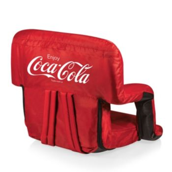 Picnic Time Coca-Cola Portable Recliner Chair
