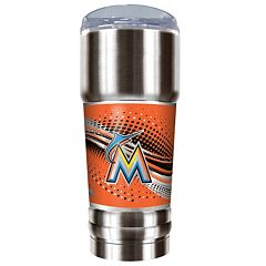 Miami Marlins 32-Ounce Pro Stainless Steel Tumbler
