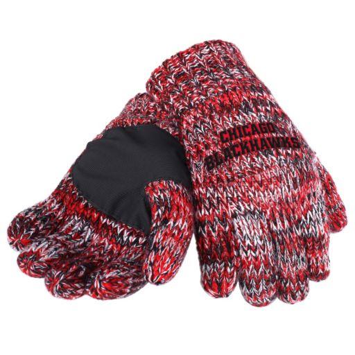Adult Forever Collectibles Chicago Blackhawks Peak Gloves