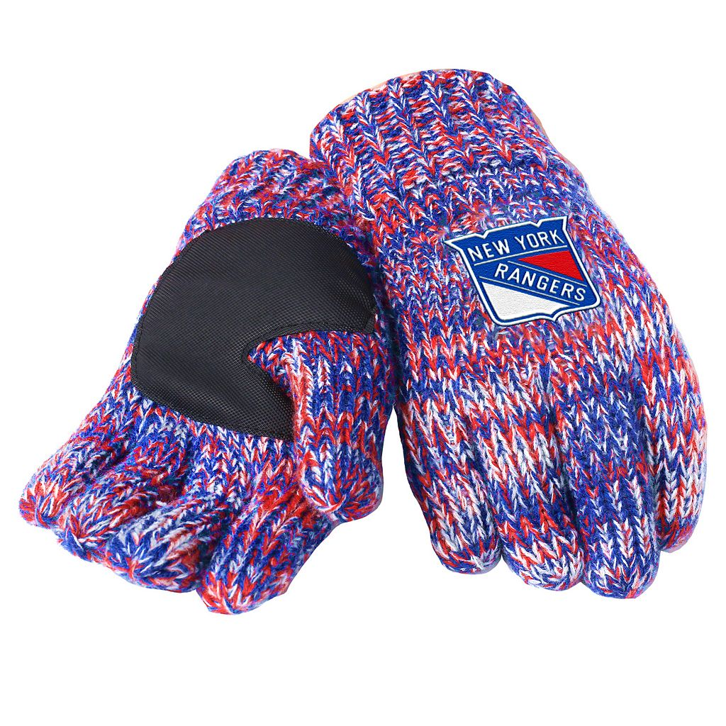 Adult Forever Collectibles New York Rangers Peak Gloves