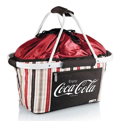 Picnic Time Coca-Cola Metro Basket
