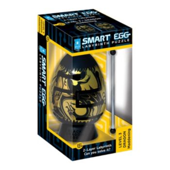 BePuzzled Smart Egg 2-Layer Maddening Black Dragon Labyrinth Puzzle
