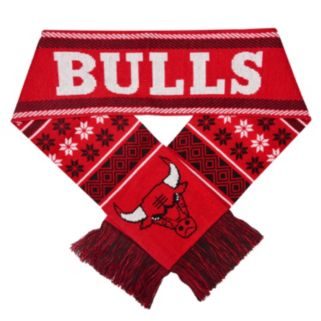 Forever Collectibles Chicago Bulls Lodge Scarf