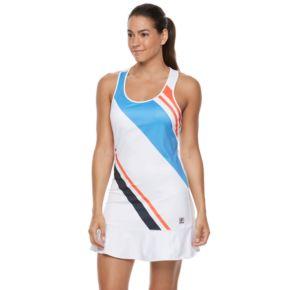 Women's FILA SPORT® Striped Racerback Tennis Dress