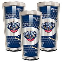 New Orleans Pelicans 3-Piece Shot Glass Set
