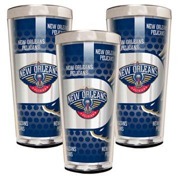 New Orleans Pelicans 3-Piece Shot Glass Set