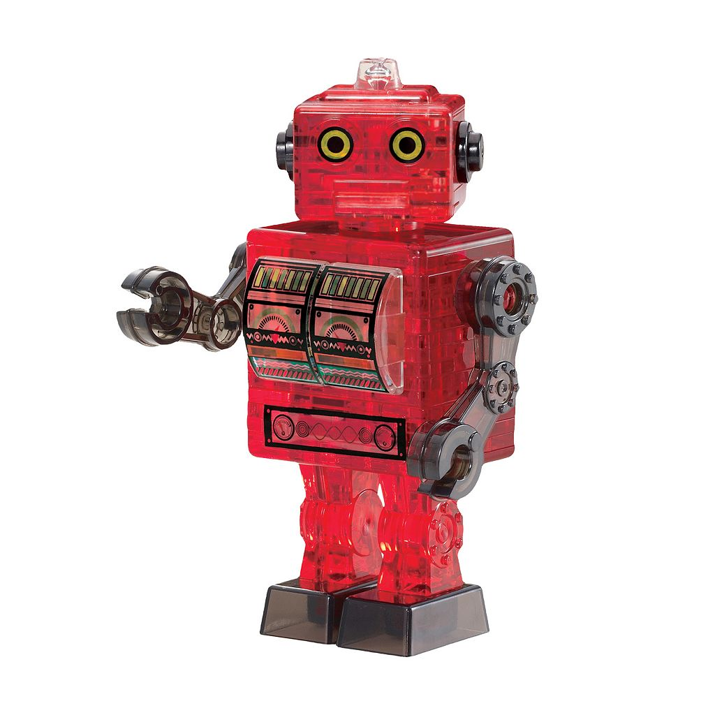BePuzzled 39-pc. 3D Crystal Robot Puzzle
