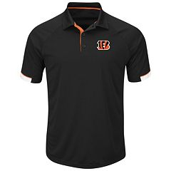 Men's Majestic Cincinnati Bengals Last Second Win Polo
