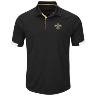 Men's Majestic New Orleans Saints Last Second Win Polo