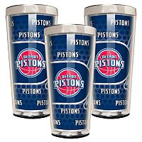 Detroit Pistons 3-Piece Shot Glass Set