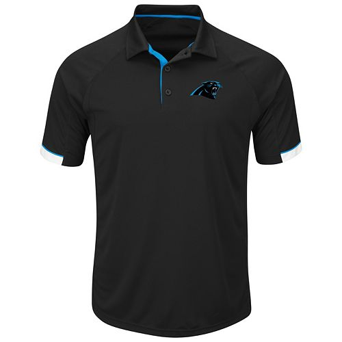 Men's Majestic Carolina Panthers Last Second Win Polo